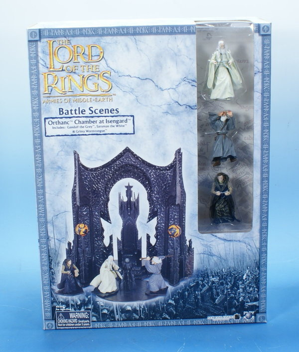 LOTR AOME Orthanc-Chamber at Isengard 7cm Serie AOME001