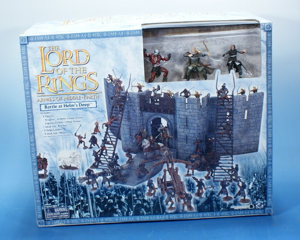 LOTR AOME Battle at Helm´s Deep 7cm Serie AOME003