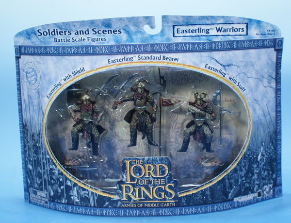 LOTR AOME Easterling Warriors 7cm Serie AOME007