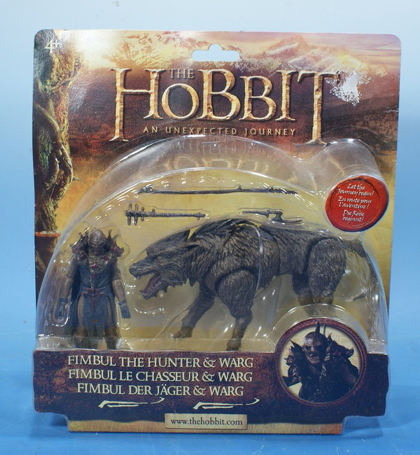 THE HOBBIT Fimbul the hunter + Warg AC004