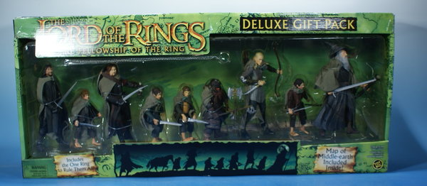TOYBIZ Herr der Ringe Fellowship of the ring HDR001