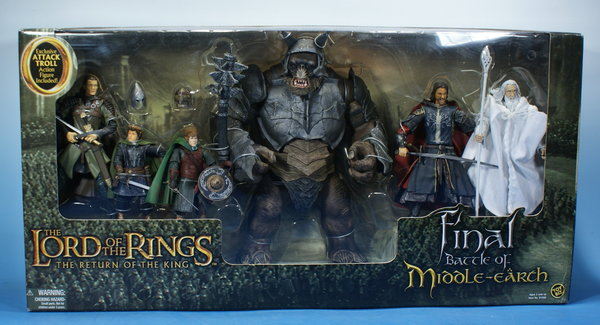 TOYBIZ Herr der Ringe Final Battle of Middle Earth HDR004