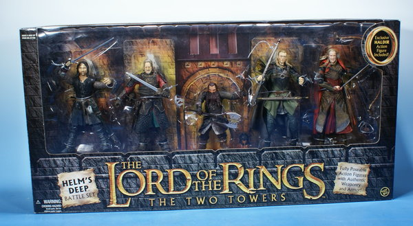 TOYBIZ Herr der Ringe Helm´s Deep Battle Set HDR006
