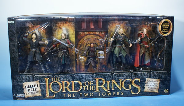 TOYBIZ Herr der Ringe Helm´s Deep Battle Set HDR007
