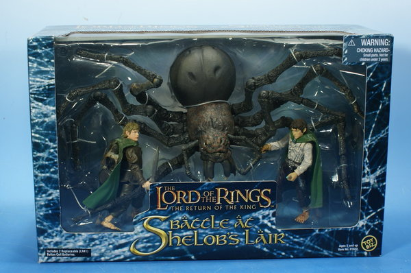 TOYBIZ Herr der Ringe Battle at Shelop´s Lair HDR010
